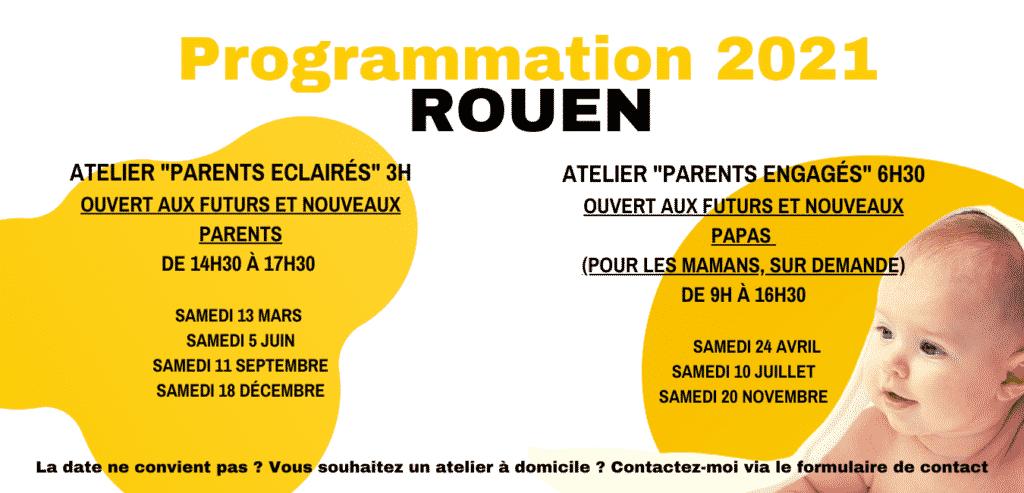 Programmation 2021 ROUEN LA FABRIQUE DES PARENTS ATELIER POUR FUTURS ET NOUVEAUX PARENTS ( futures mamans et futurs papas Rouen )