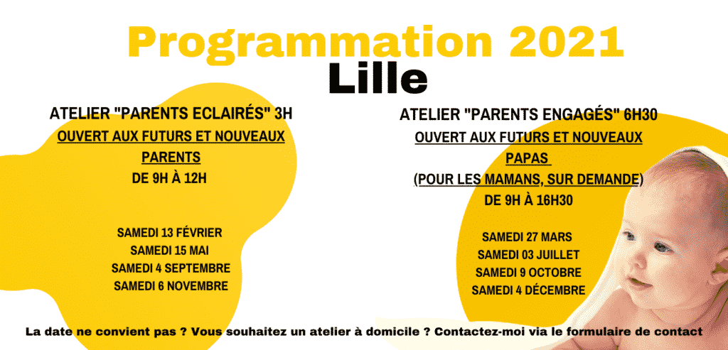 PROGRAMMATION 2021 Lille futurs parents / la fabrique des parents